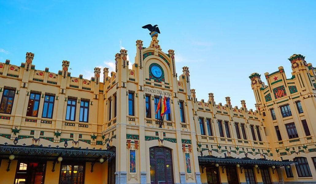 Station close to Calle Bailen Valencia