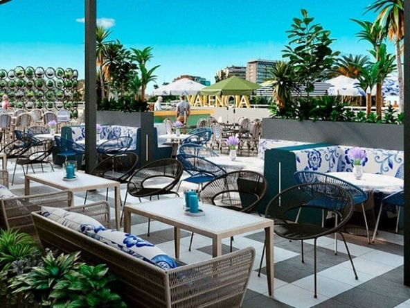 best terraces in Valencia