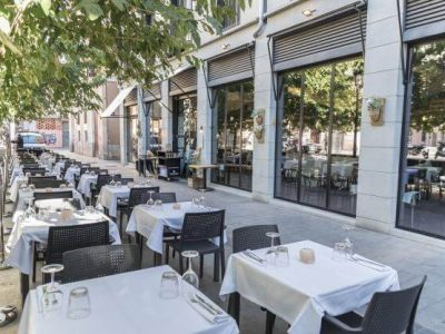 nicest restaurants in Valenica with terraces - Le Favole