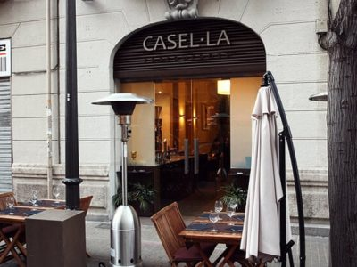 restaurant with terrace in Canovas - Casella